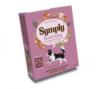 Symply Dog Food Duck & Turkey