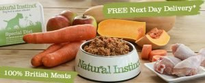 Natural instinct raw dog food